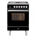 ILVE Roma PI06WE3 60cm cooker with single 60cm oven and 4 zone Induction Top