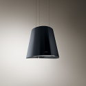 Elica JUNO-BLK Ceiling Mounted Island Hood in Black