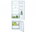 Bosch KIV87NSF0G 70:30 split integrated fridge freezer