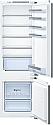 Bosch KIV87VFF0G 70:30 Split Integrated Fridge Freezer with Flat Hinges