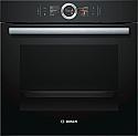 Bosch HBG6764B6B Pyrolytic Single Oven in Black