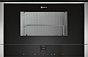 Neff C17GR00N0B Built-in microwave with Left Hand Hinged Door