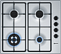 Neff T26BR56N0 Stainless Steel Gas Hob