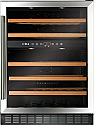 CDA FWC604SS 60cm freestanding/ under counter wine cooler