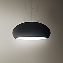 Elica PEARL-BLK Designer Ceiling Mounted Cooker Hood in Matt Black