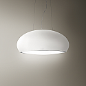 Elica PEARL-WH-MATT Designer Ceiling Mounted Cooker Hood in Matt White