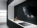 Elica MINI-IO-BLK 55cm Designer Cooker Hood in Black Glass