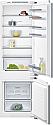 Siemens KI87VVF30G 70:30 Split Integrated Fridge Freezer with Flat Hinges