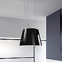 Elica CHARM-BLK Designer Ceiling Mounted Decorative Hood