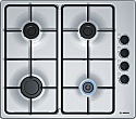 Bosch PBP6B5B80 Gas Hob in Stainless Steel
