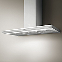 Elica LUNA-120 low profile, wall mounted chimney hood with ambient lighting