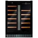 CDA FWC624BL 600mm Under Counter Wine Cooler in Black
