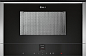 Neff C17WR00N0B Built-in microwave with Left Hand Hinged Door