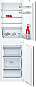 Neff KI5852SF0G 50:50 Integrated Fridge Freezer with Slide Hinges