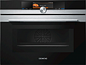 Siemens CM678G4S6B Compact oven with microwave