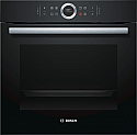 Bosch HBG634BB1B Single oven in black