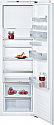 Neff Ki2823FF0G Tall Integrated fridge with Freezer Compartment - Fixed Hinge