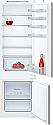 Neff KI5872S30G 70:30 Split Integrated Fridge Freezer with Slide Hinges