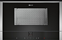 Neff C17WR01N0B Built-in microwave with Right Hand Hinged Door - N70 Series